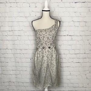 Anthropologie Moulinette Souers One Shoulder dress